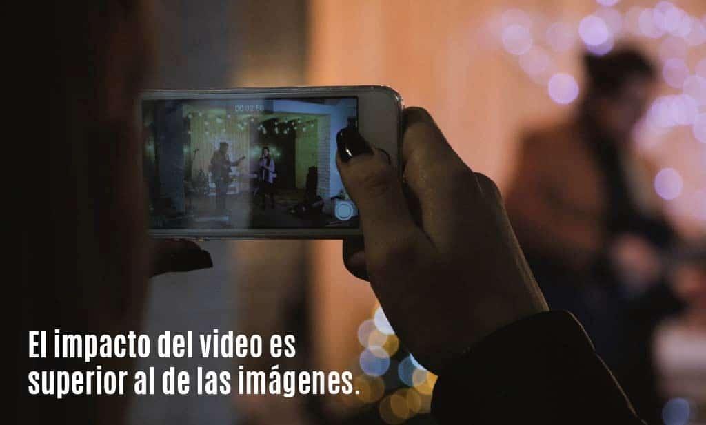 Por que es mejor el video a las imágenes